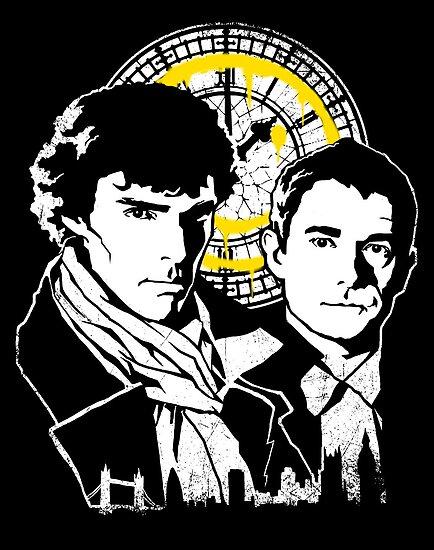 John and Sherlock by zerobriant