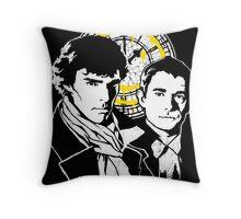 John and Sherlock Throw Pillow