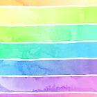 Summer Sorbet Rainbow Stripes by micklyn