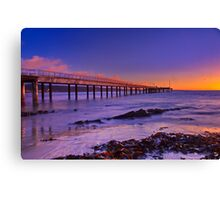"""A Winter's Morning In Lorne"" Canvas Print"
