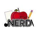 Nerd - Logo by Adamzworld