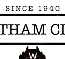 Gotham City Sticker
