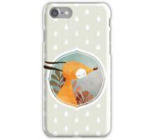 Portrait of fox iPhone Case/Skin