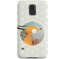 Portrait of fox Samsung Galaxy Case/Skin