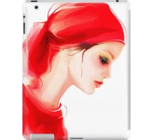 Fashion woman  portrait  iPad Case/Skin