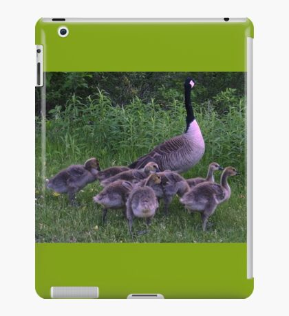 Mother And Her Babies  iPad Case/Skin