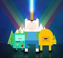 Adventure Time - Star Wars by saboe