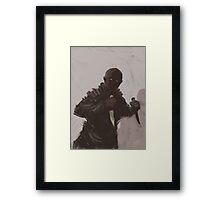Assassin  Framed Print