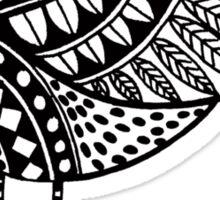 Cutout Bird Sticker