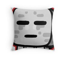 Minecraft Ghast drawing Throw Pillow