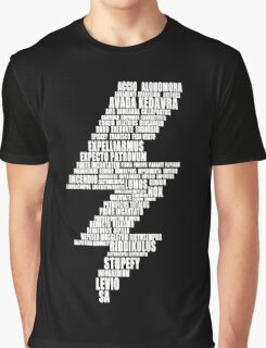 Harry Potter Magic Spelling Graphic T-Shirt