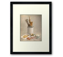 Let's Bake A Cake! Framed Print