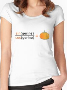 Tan(gerine) Women's Fitted Scoop T-Shirt