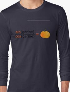 Tan(gerine) Long Sleeve T-Shirt