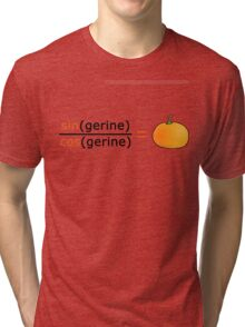 Tan(gerine) Tri-blend T-Shirt