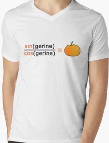 Tan(gerine) Mens V-Neck T-Shirt