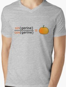 Tan(gerine) Mens V-Neck T-Shirt