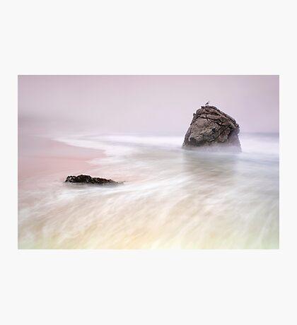 Garrapata Beach Fog Photographic Print