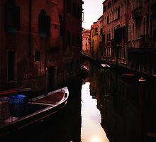 Venice Canal by David J Baster