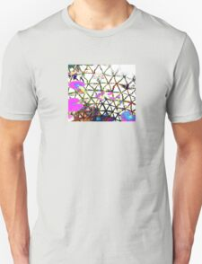 Psychedelic water lilly pond. Unisex T-Shirt