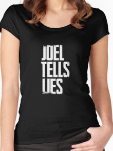 Joel Tells Lies Women's Fitted Scoop T-Shirt