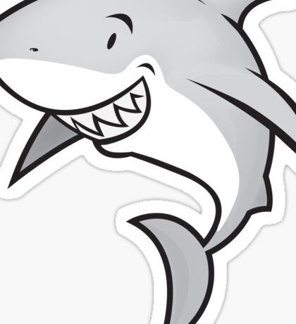 Love sharks/Great white buddy Sticker