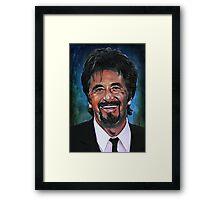 AL Framed Print