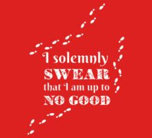 i solemnly swear that i am up to no good One Piece - Short Sleeve