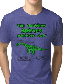 LOCH NESS monster. Tri-blend T-Shirt