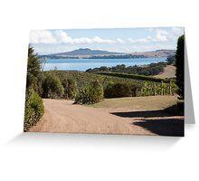 Vineyard View Greeting Card