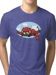 Red panda Tri-blend T-Shirt