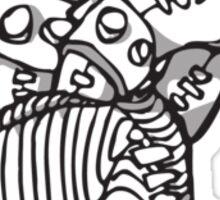Silicon beat Sticker