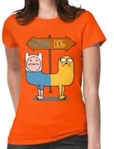 Finn & Jake- CatDog Womens Fitted T-Shirt