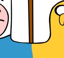 Finn & Jake- CatDog Sticker