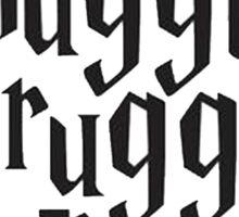 Harry Potter The Muggle Sticker