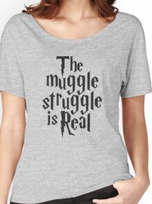 Harry Potter The Muggle Women's Relaxed Fit T-Shirt