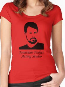 Jonathan Frakes Acting Studio Women's Fitted Scoop T-Shirt