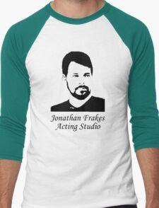 Jonathan Frakes Acting Studio Men's Baseball ¾ T-Shirt