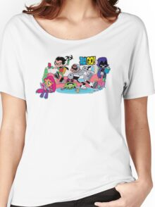 Teen Titans chilling Women's Relaxed Fit T-Shirt