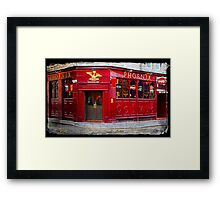 The Phoenix Bar in Dundee Scotland Framed Print