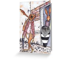 DOUBLE TAKE Greeting Card