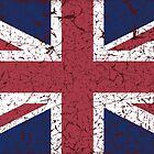 Vintage look Union Jack Flag of Great Britain by VintageSpirit