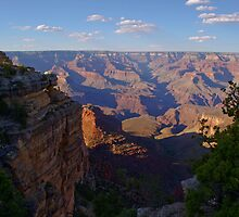 Grand Canyon View From South Rim by DavidHintz