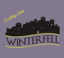 Greetings from Winterfell by kingUgo