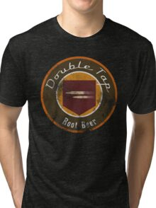 Double Tap Root Beer - Zombies Perk Emblem Tri-blend T-Shirt