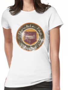 Double Tap Root Beer - Zombies Perk Emblem Womens Fitted T-Shirt