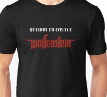 Wolfenstein return to castle logo Unisex T-Shirt