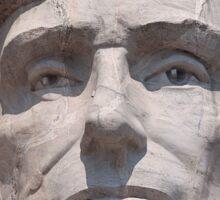 Abraham Lincoln, Mount Rushmore National Memorial .2 Sticker