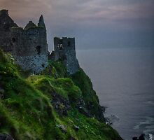 Dunluce Remains by Adam Northam