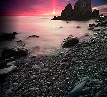 Striking Sun by jswolfphoto
